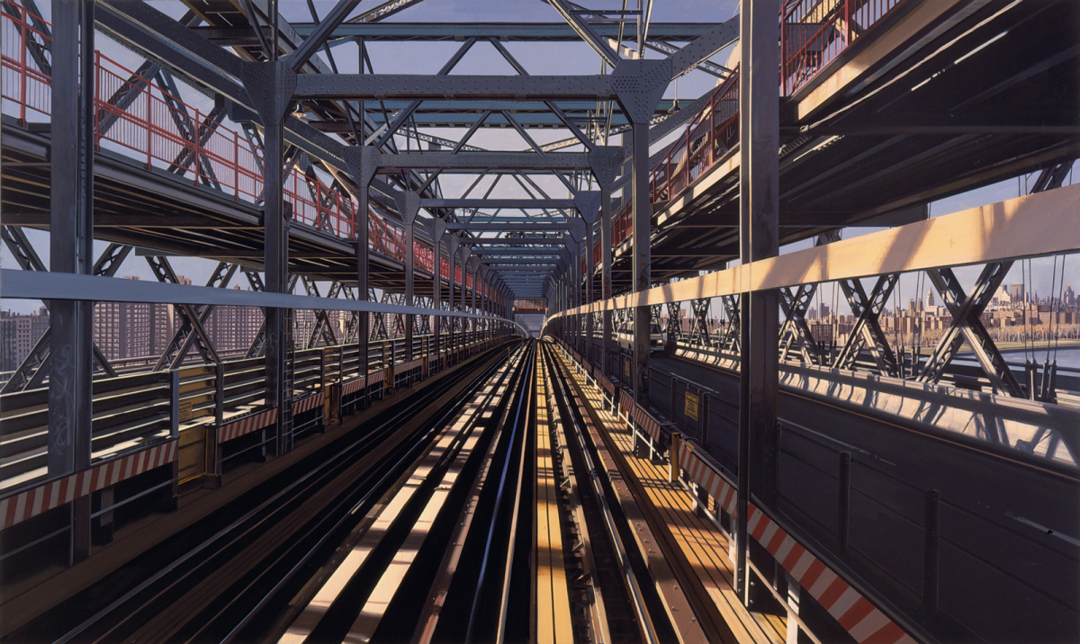 Richard Estes: Williamsburg Bridge, 2006