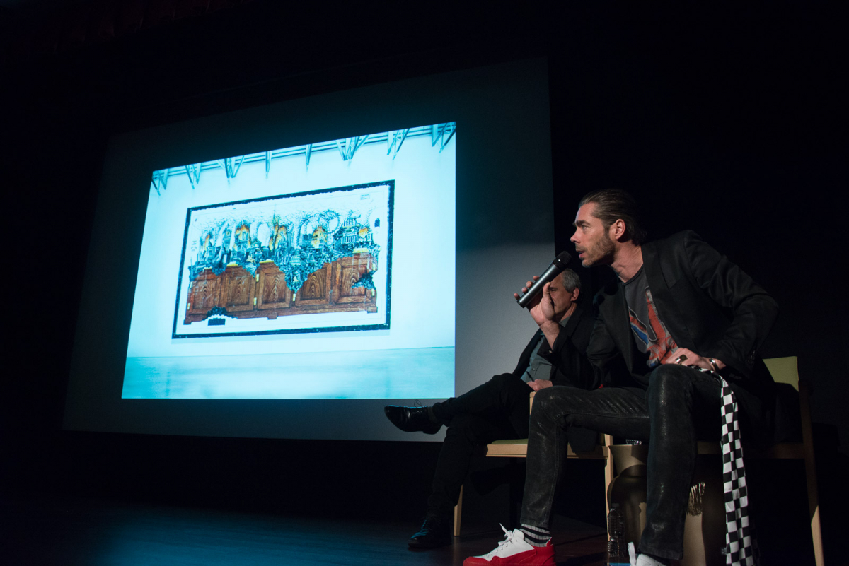 Job Smeets and Dennis Freedman in Conversation at MAD on March 22, 2016