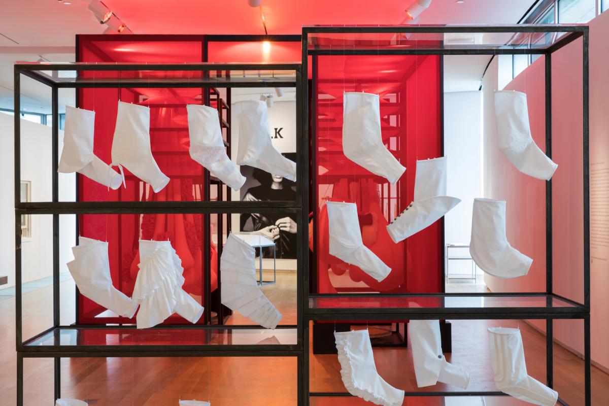 Installation view of <em>fashion after Fashion</em>
