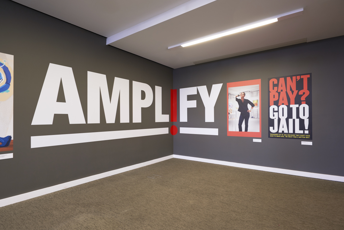 Installation View of AMPL!FY at the Museum of Arts and Design
