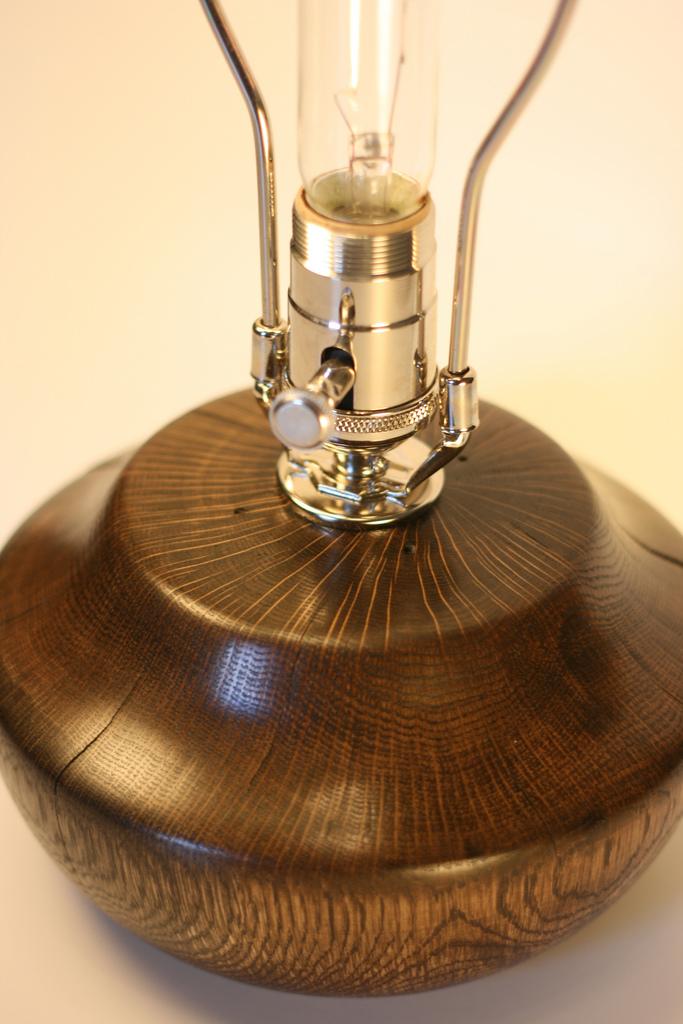 Oak lamp: Oak lamp