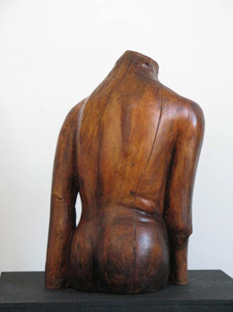 Worn-Out Lady: Worn-Out Lady, 2010, carved wood
